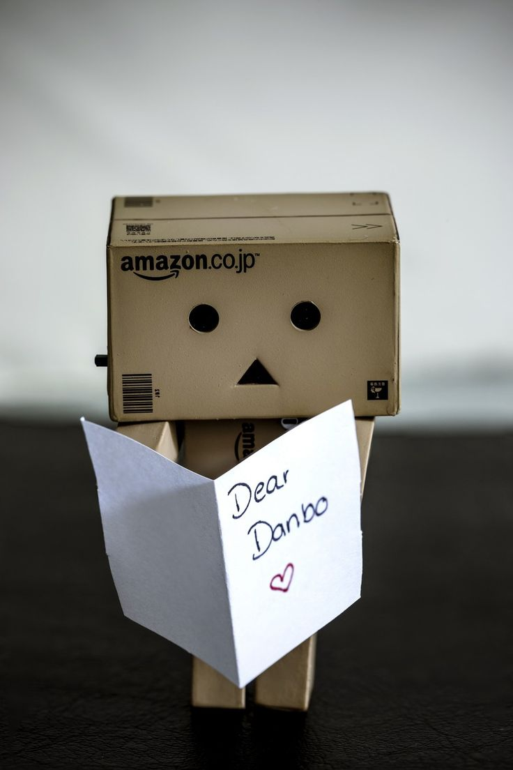 amazon box robot quotes. danbo was lucky enough to get a letter from secret admirer now heu0027s wondering who it is amazon box robot quotes p