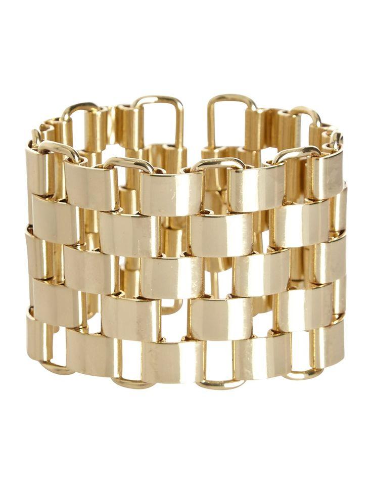 Bracelet esprit jonc ajouré #MORGANDETOI #GOLD