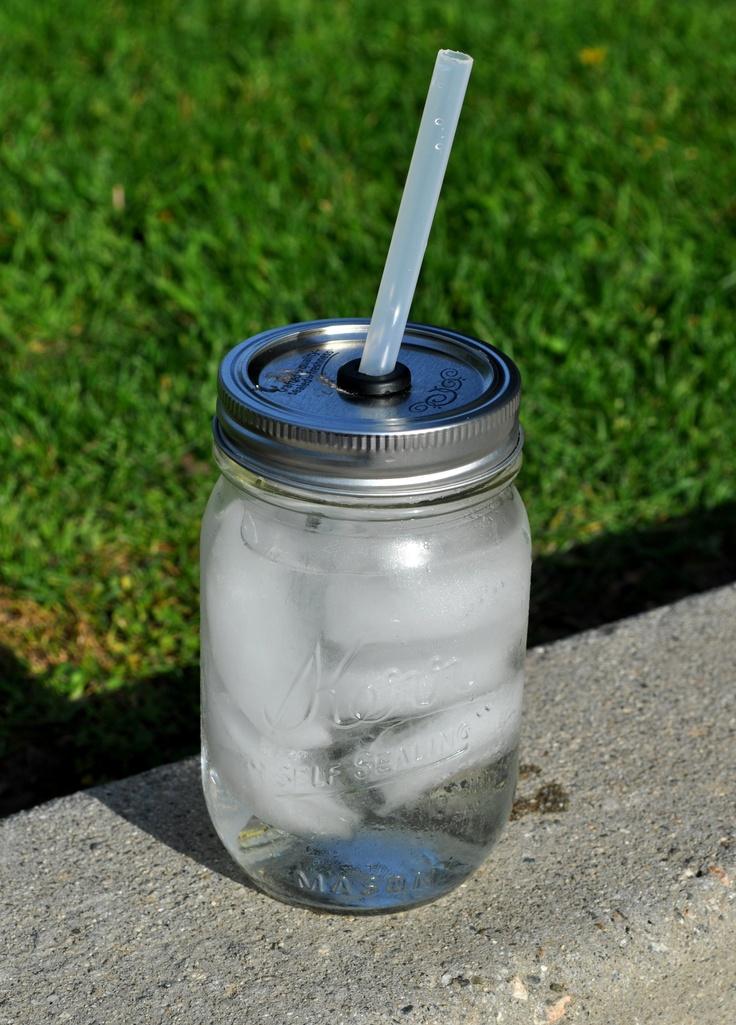 My DIY mason jar travel cups Super