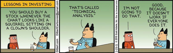 Dilbert Comic Strip Series - Boss gives Asok investment advice