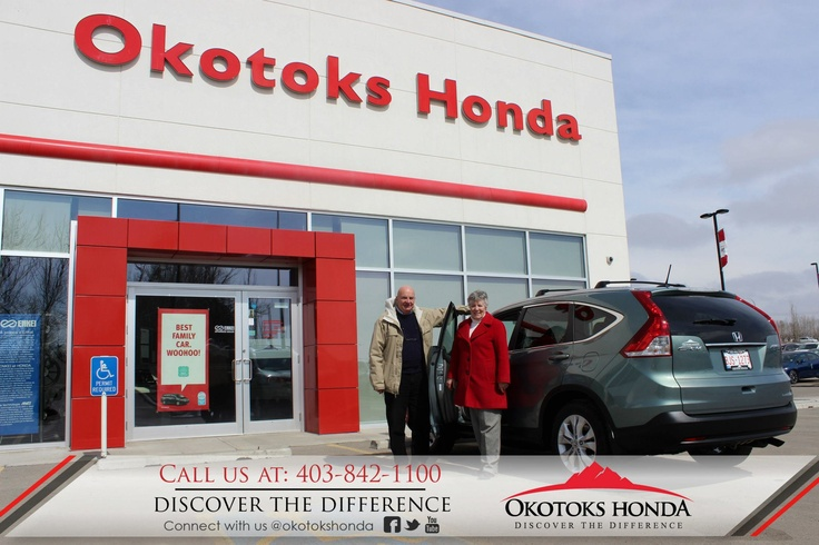 The Cumming Family and their Honda CRV - thanks to Kylian Pomares. Welcome to the OH Family! Call Okotoks Honda at 403.842.1100 for your vehicle maintenance needs!