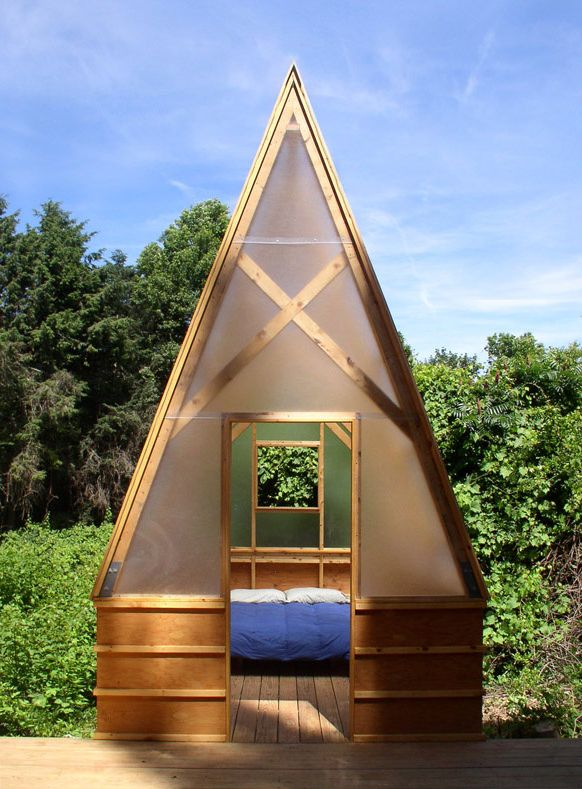 A Frame tent cabin