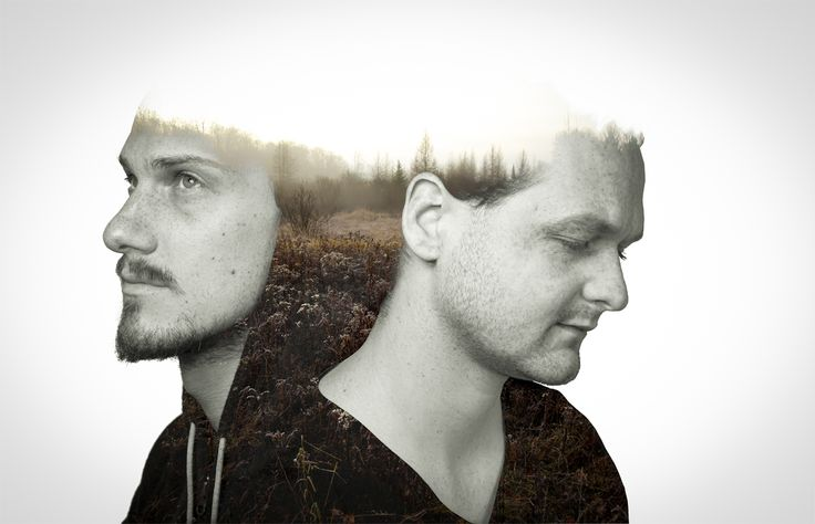 The Duo artist want the Double exposure mixed with fields for their upcoming track.