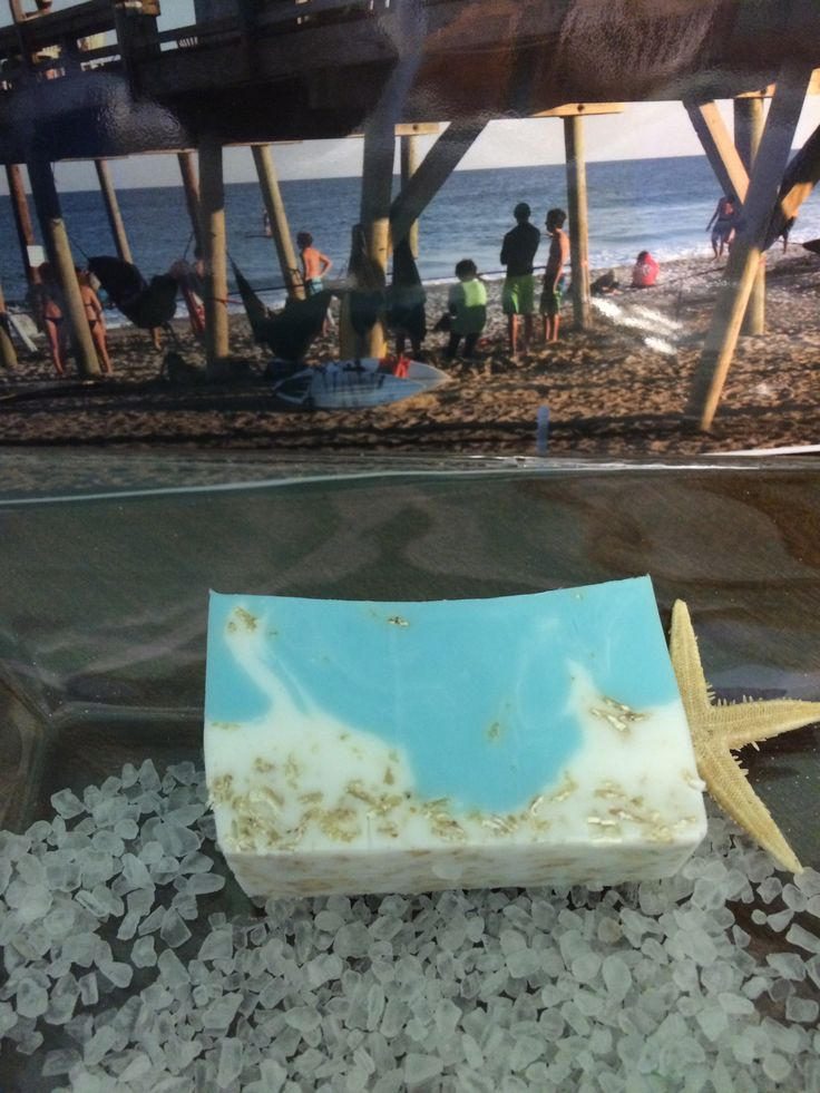 Shore Soap with photography by C. Zahnow