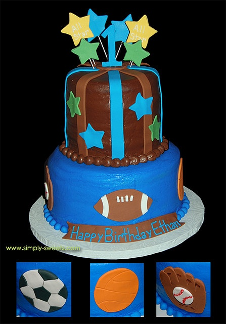 Best ALL STAR SPORTS CAKES Images On Pinterest Sport Cakes - All star birthday cake