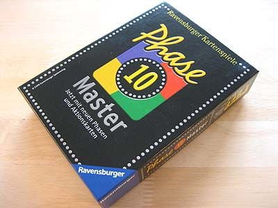 Phase 10 Master - Spielbox