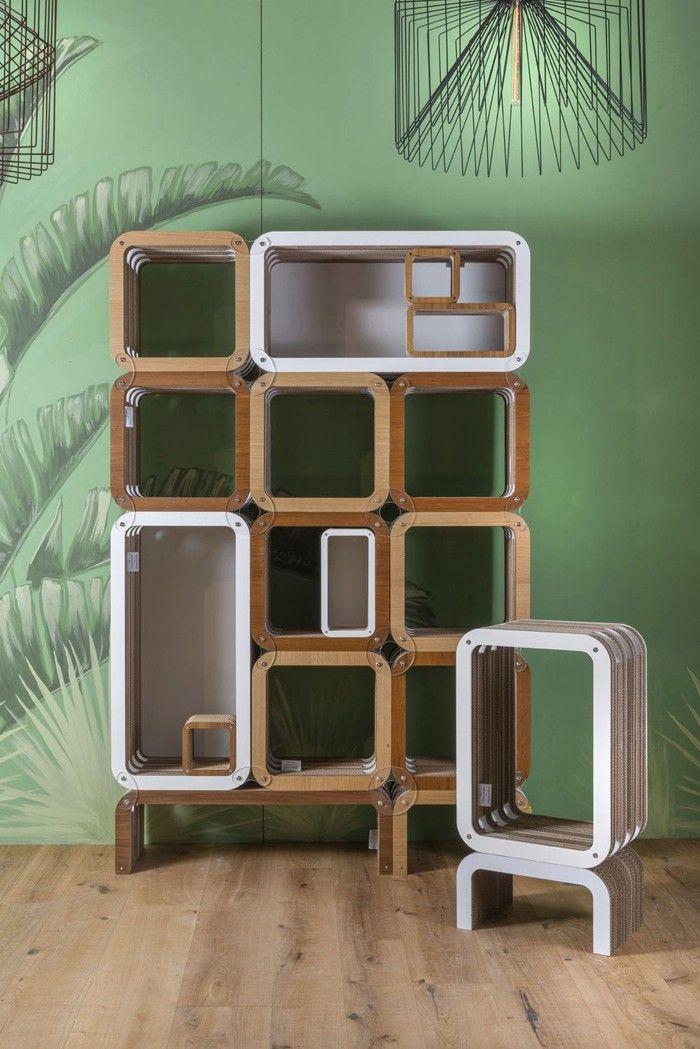 25+ ide terbaik tentang Pappe möbel di Pinterest   Möbel aus pappe ...