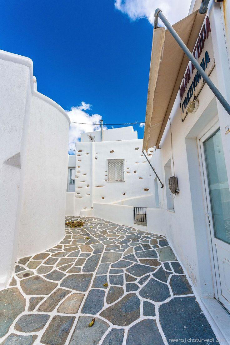 Kostos village, Paros, Greece