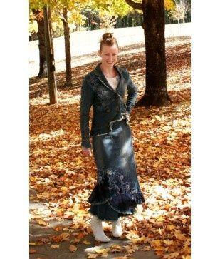 Apostolic Pentecostal Clothes | Apostolic Pentecostal Clothing / Distressed Denim Jacket