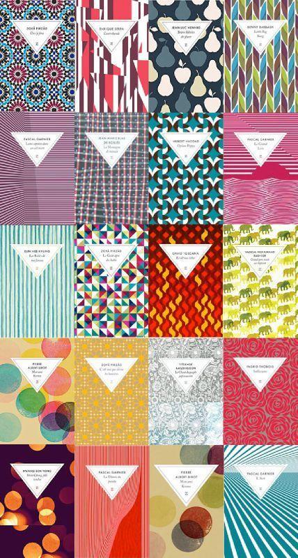 book design // packaging inspiration // pattern // design