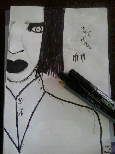 Marilyn Manson SAJÁT!!!!*Virág Vivien*