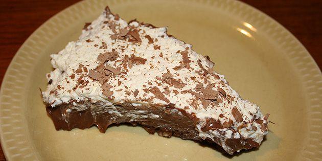 Lækker chokoladetærte