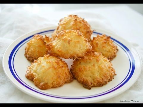 3 Ingredient Coconut Macaroons - Living Sweet Moments
