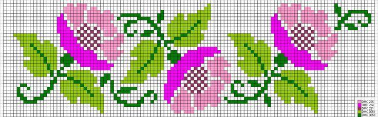 Ponto Cruz: Gráficos de Florzinhas