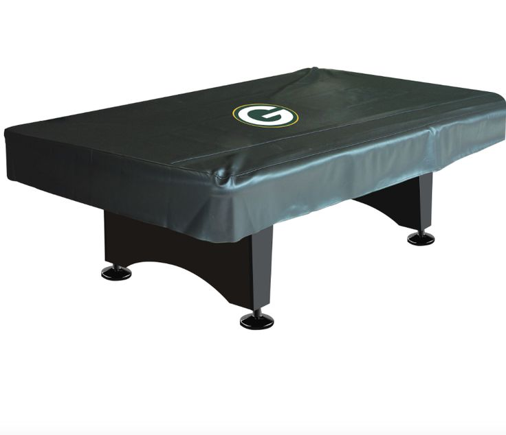 Green Bay Packers deluxe 8ft pool table cover http://www.BilliardFactory.com/Green-Bay-Packers-Deluxe-8ft-Pool-Table-Cover