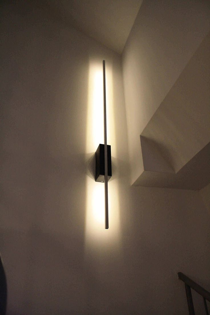IKEA Hackers: Ledberg wall lamp for stairway | DIY