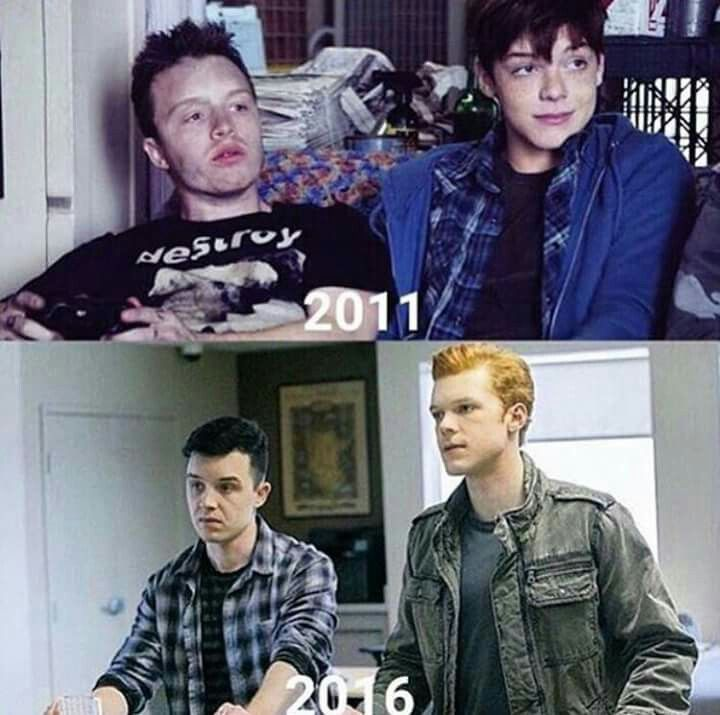 Gallavich. The glo up is fucking real.