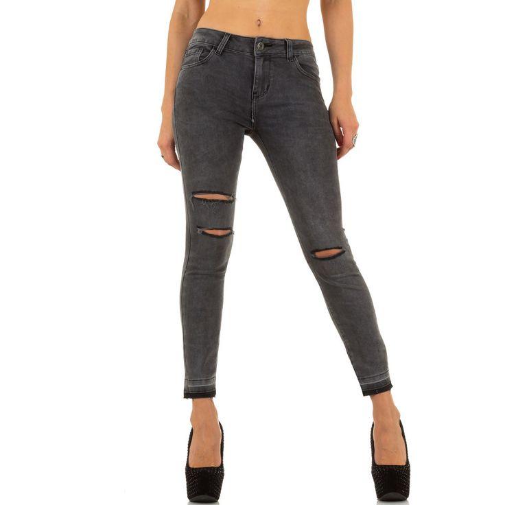 Destroyed High Waist Skinny Jeans | Ital Design Shop