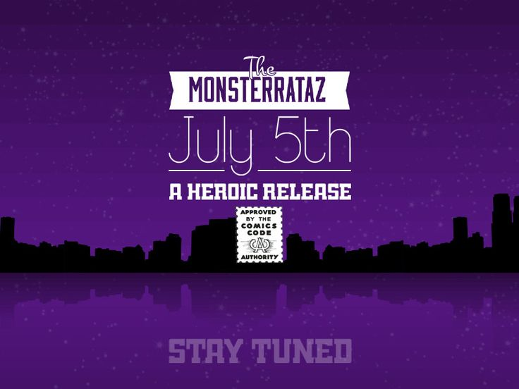 The Monsterrataz: Promo for Captain Hero J. Monster by Cooglis Angelopoulos