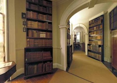 Thomas Jefferson's Monticello Library, Charlottesville, Virginia, USA