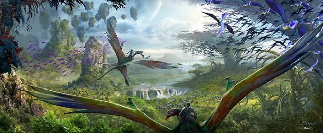 Welcome to Pandora: Disney's New Avatar Land: Ride (and Scream Like?) a Banshee