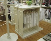 Interior Decorations - Retail Store - Shabby Chic - Display Fixtures Cases 2