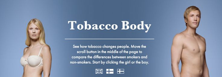 Tobacco Body: What smoking does to the body