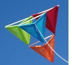 Tetrahedral Kite diy