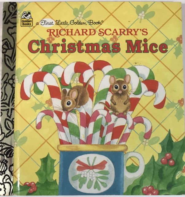 a First Little Golden Book Richard Scarry's Christmas Mice 1st 1997 | eBay