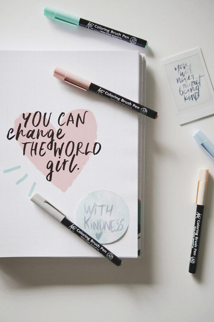 You can change de world, girl! Post sobre pequenas gentilezas que podemos incluir na nossa rotina e que pode afetar de forma positiva a vida de muitas outras pessoas.