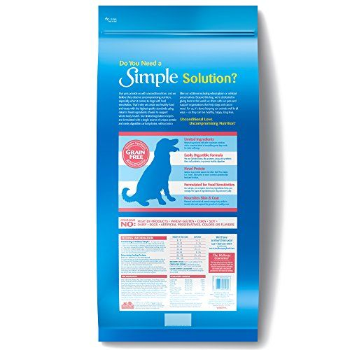 Wellness Simple Natural Grain Free Dry Limited Ingredient Dog Food, Salmon & Potato, 24-Pound Bag   Check it out-->  http://mypets.us/product/wellness-simple-natural-grain-free-dry-limited-ingredient-dog-food-salmon-potato-24-pound-bag/  #pet #food #bed #supplies