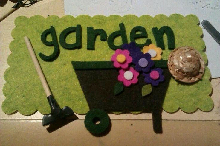 Targhette giardino