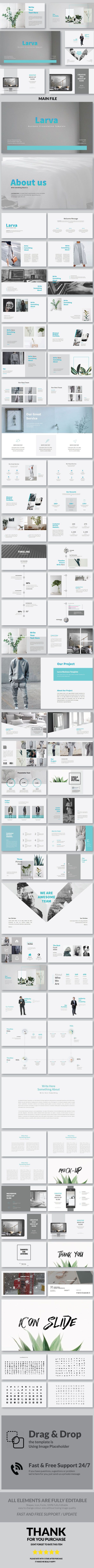 Larva Multipurpose PowerPoint Template