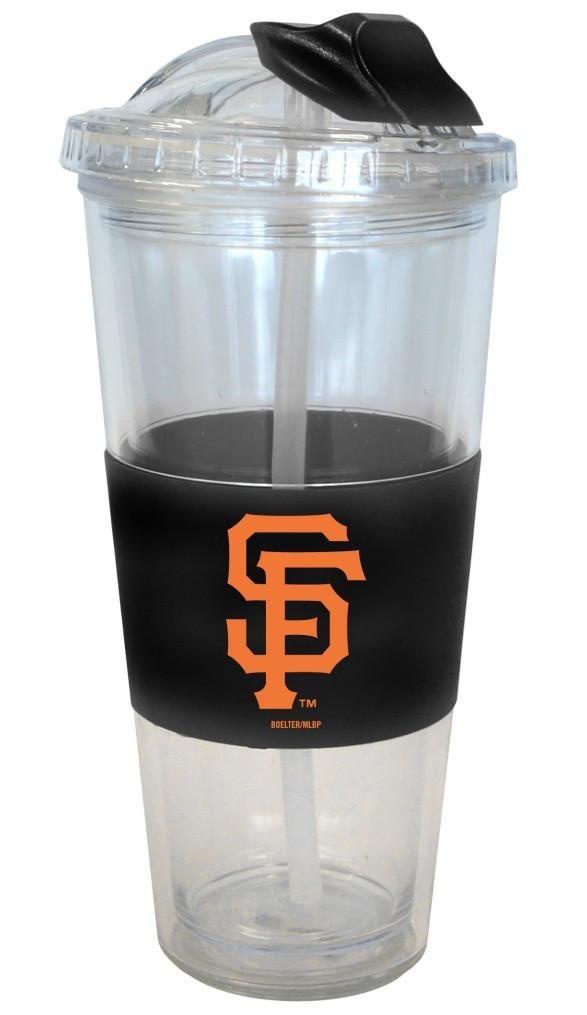 San Francisco Giants No Spill Straw Tumbler