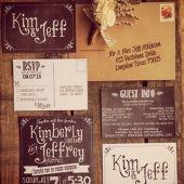 Invitaciones para tu boda, impresas en en blanco y negro