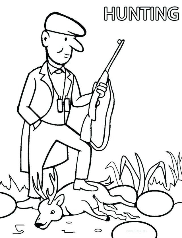 Awesome Image Of Hunting Coloring Pages Albanysinsanity Com Deer Coloring Pages Coloring Pages Animal Coloring Pages