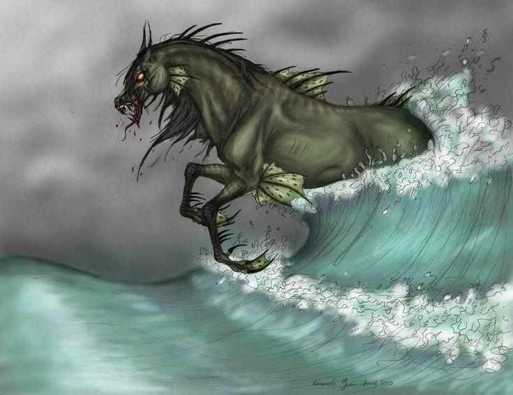 Mythical water horses - photo#8