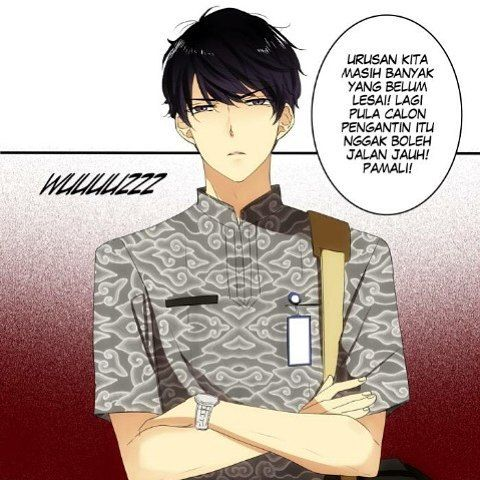 Ketika Mas Adimas mulai mengekang.  This webtoon is superrr hot here in Indonesia. CHECK IT OUT!! Titled MY PREWEDDING