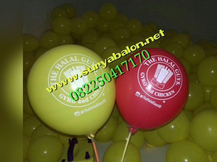Surya Balon memproduksi balon print / balon sablon berkualitas , desain sesuai keinginan anda .