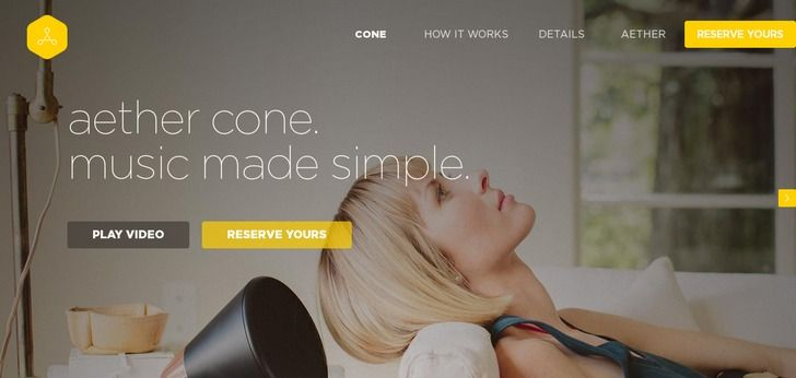 Aether website has a Great Web Design | Best Web Designs