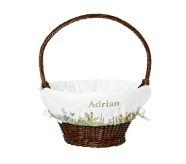dark brown large basket