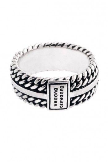 Buddha to Buddha Chain Texture ring.