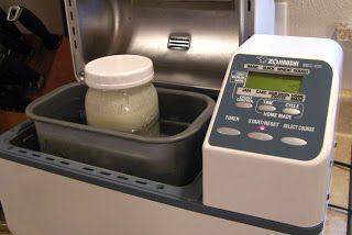 yogurt in bread machine
