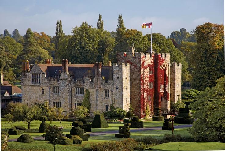 Hever Castle, Edenbridge, Kent, England, Summer 2012