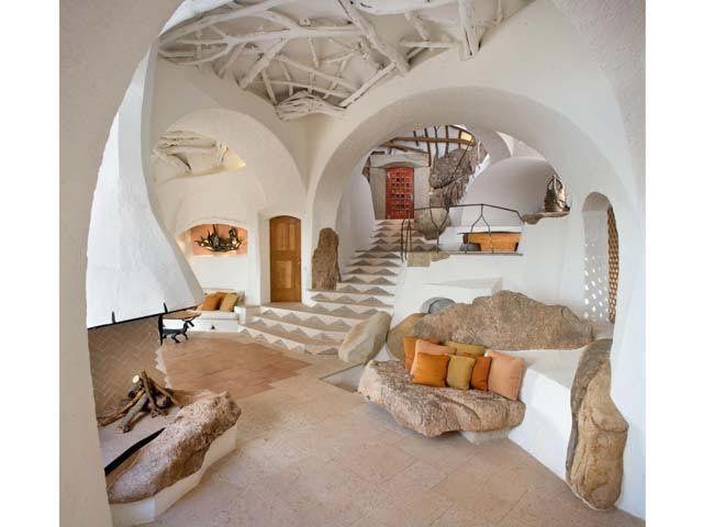 Savin Couelle house | Savin Couëlle - Costa Smeralda, Italia c. 2001... . Foto-gallery e ...