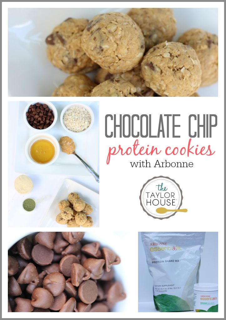 Delicious and easy to make Chocolate Chip Protein Cookies get arbonne protien powder  here @deanavoigt.arbonne.com
