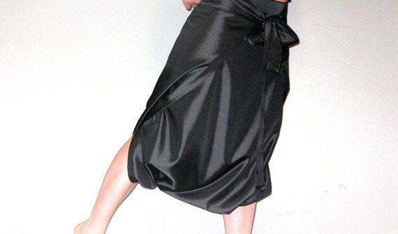 Eccentric skirt trousers harem skirt by LadyMargaritaStudio