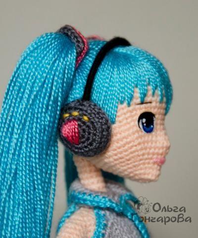 The most beautiful amigurumi doll. Great shaping. (Inspiration).