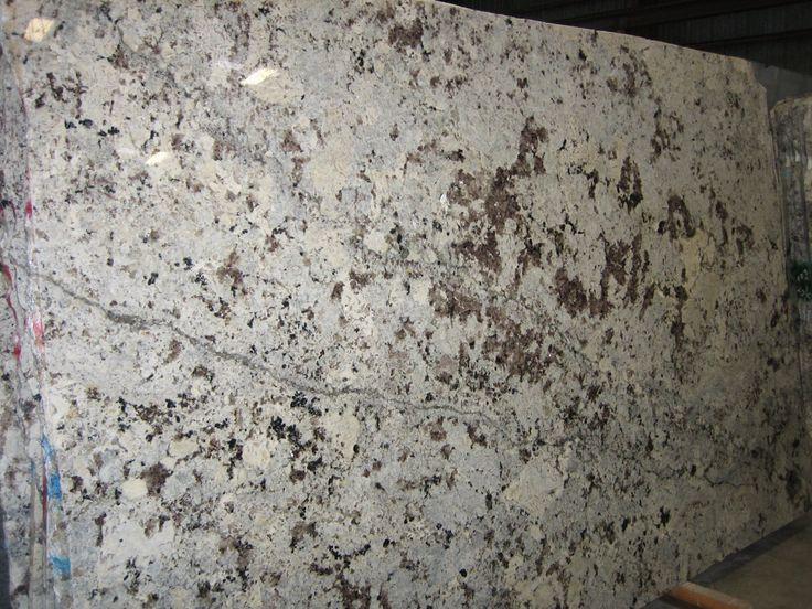 Alaskan White Granite...a favorite!