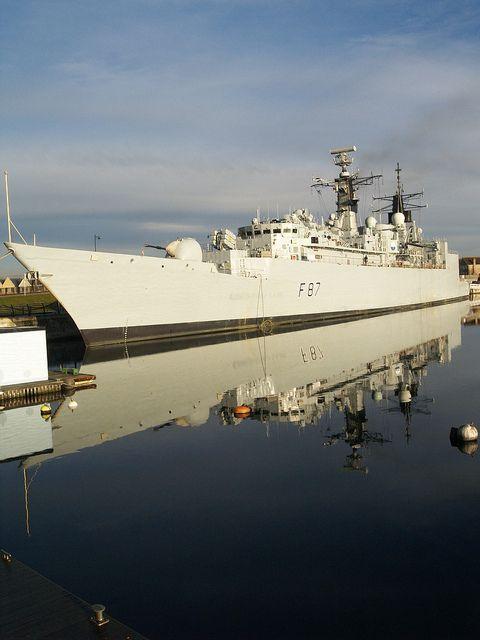 HMS Chatham type 22 frigate basin No 2 Chatham